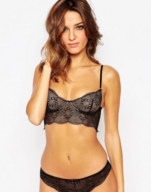 lingerie dentelle noire
