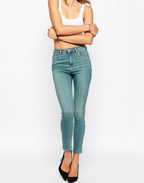 Asos jeanslim délavé