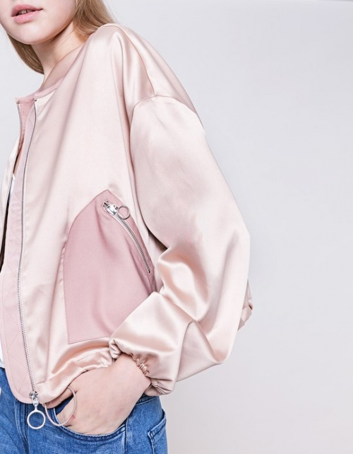 Stradivarius rose satin