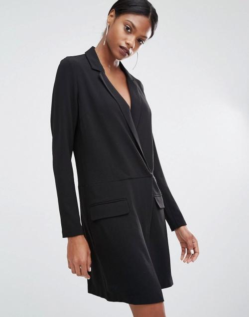 Y.A.S robe blazer ample noire