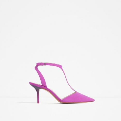 Zara escarpins rose bout pointu