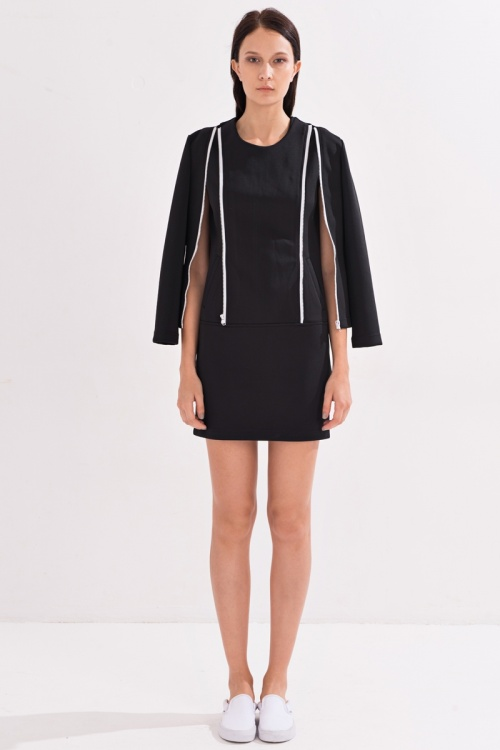 robe noire cape