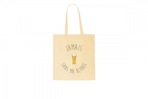 The Tops x Meetic - Tote Bag blonde et bière