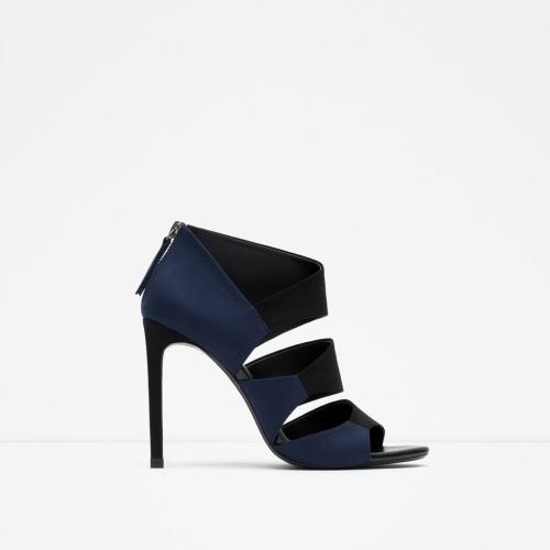 Zara - Escarpins bleus et noirs