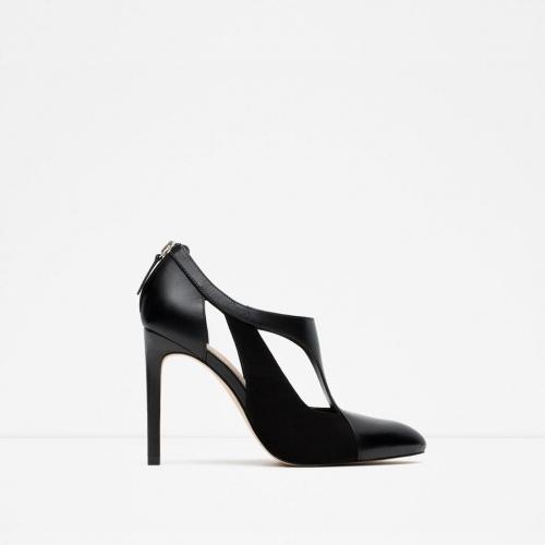 Zara - Escarpins noirs ajourés