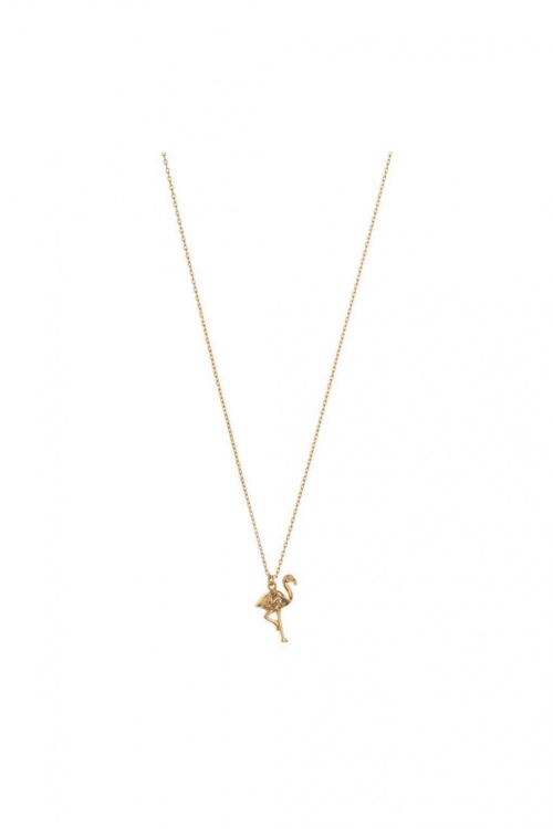 Topshop - Collier flamant rose