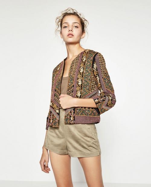 Zara - Veste ethnique
