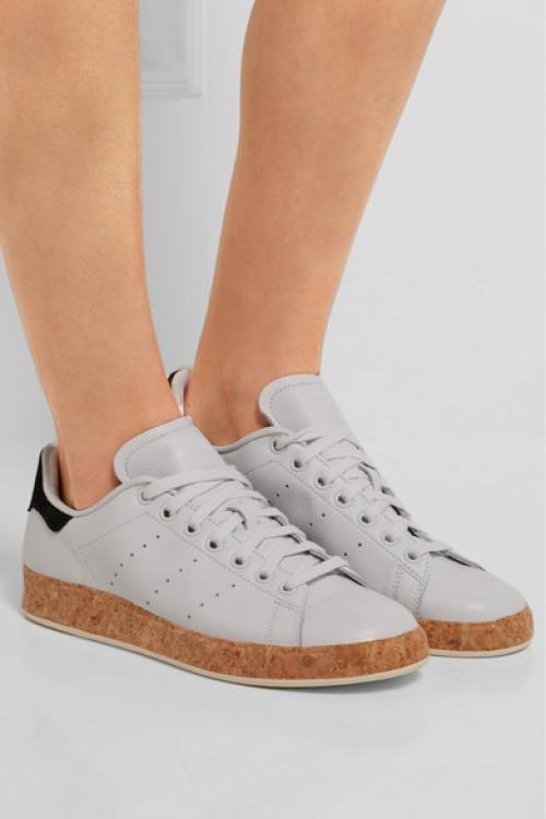 Adidas Originals - Stan Smith blanches liège