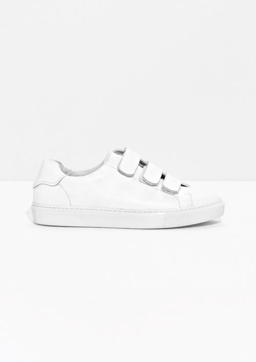 Scratch Strap - Baskets blanche