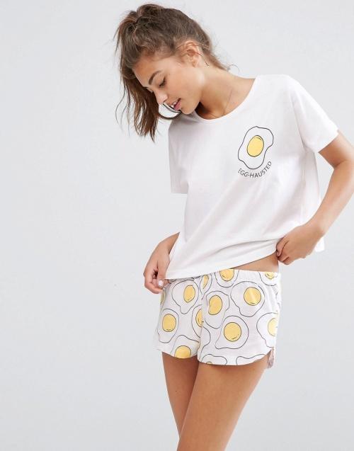 Asos - Ensemble pyjama oeufs