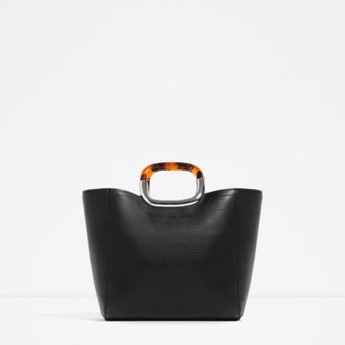Zara - Sac cabas noir