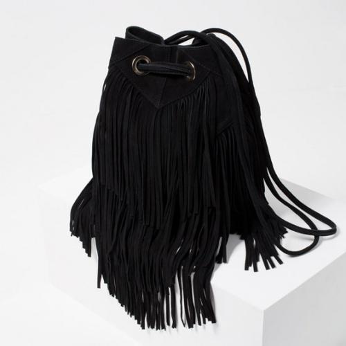 Zara - Sac baluchon noir