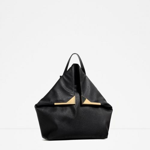 Zara - Sac à dos noir