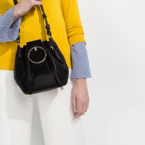 Zara - Sac bandoulière noir