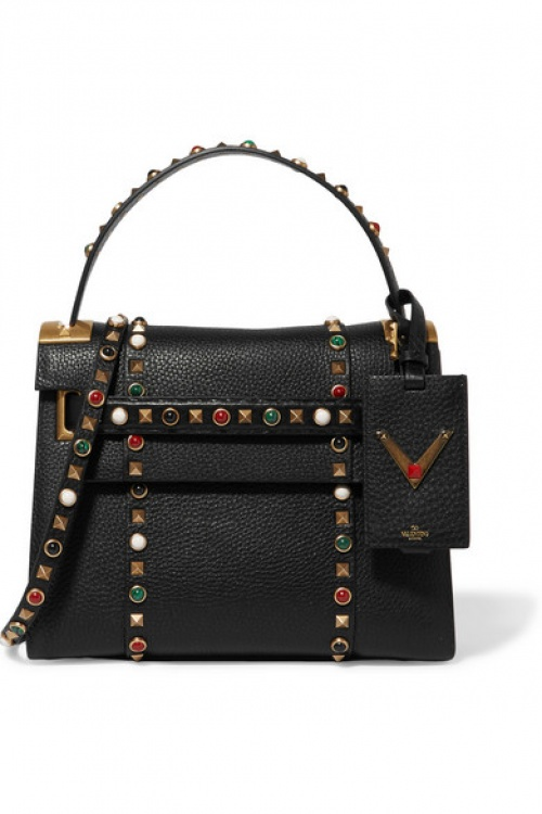 Valentino - Sac avec ornements noir