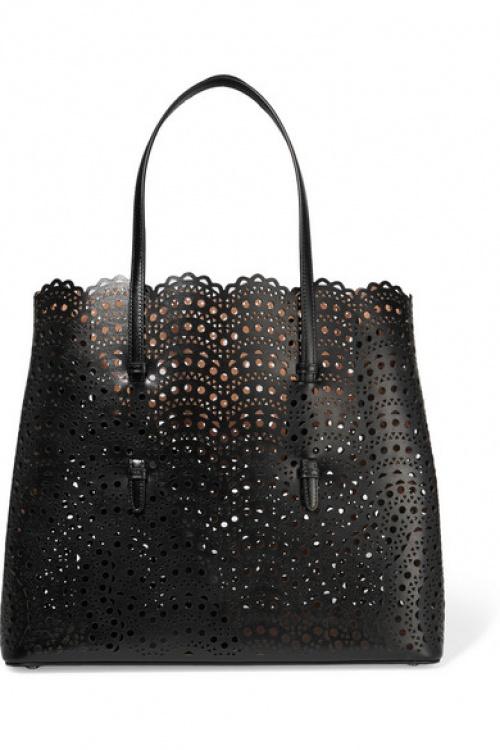 Alaïa - Sac en cuir noir