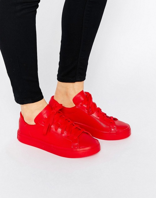 Adidas Originals baskets rouge vives