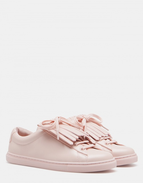 Stradivarius baskets unies rose pales