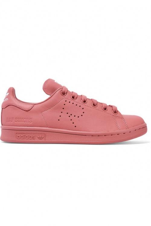 Adidas Originals baskets magenta unies