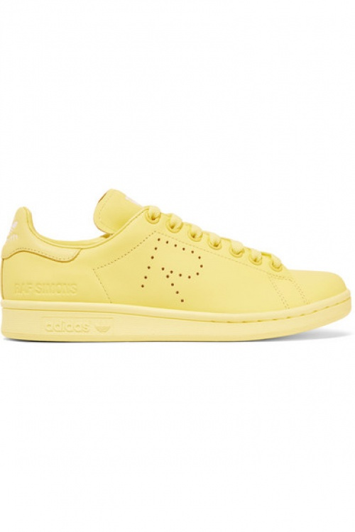 Adidas Originals baskets raf simons jaune color block