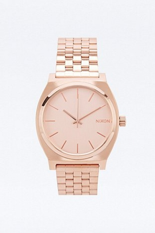 Nixon - Montre or rose