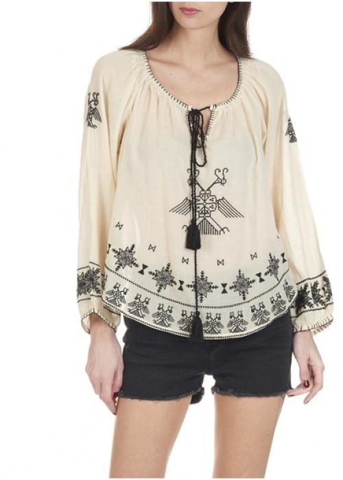 Star Mela blouse ample brodée