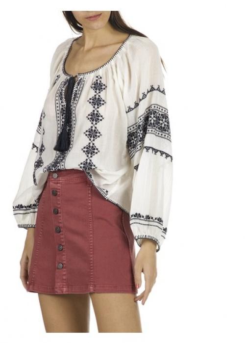 Star Mela blouse brodée
