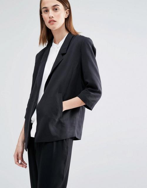 Selected blazer large noir