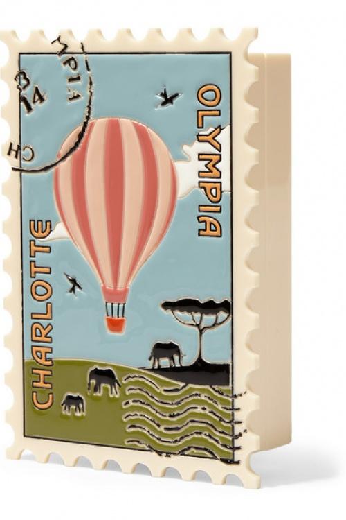 Charloote Olympia - Pochette livre timbre
