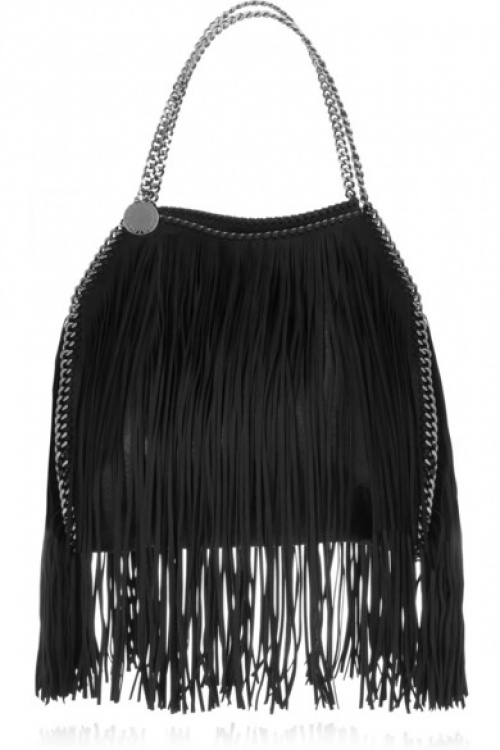 Stella McCartney - Sac franges chaine