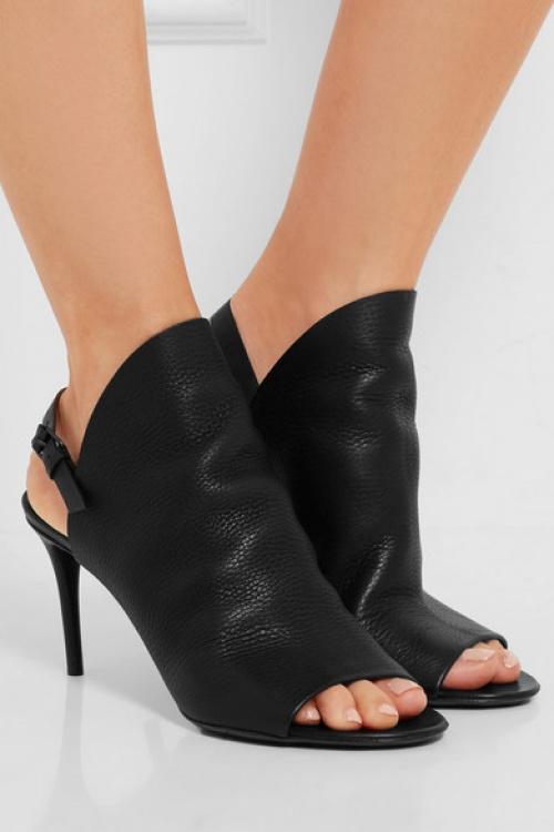 noire chaussure talons balenciaga