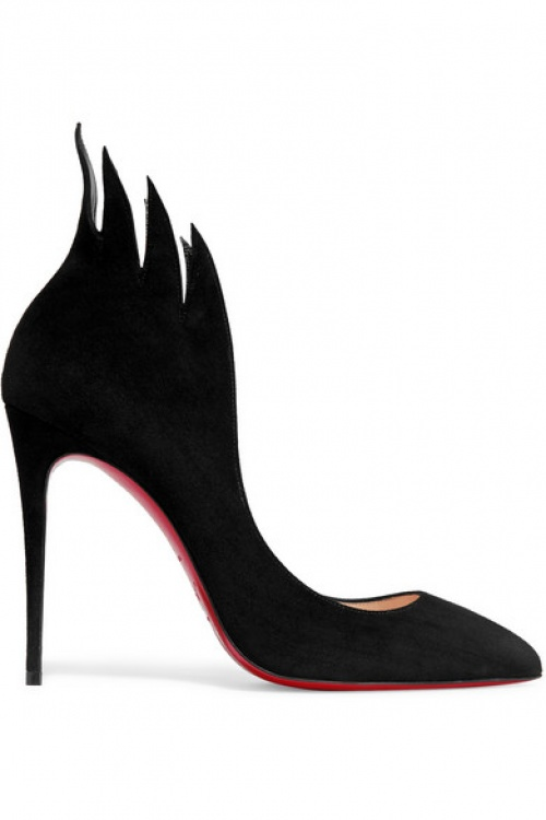 noire chaussure talons