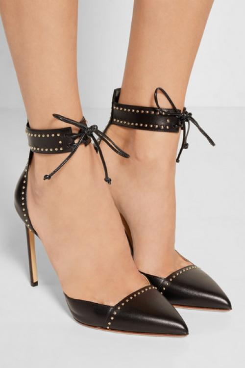 noire chaussure talons Francesco Russo