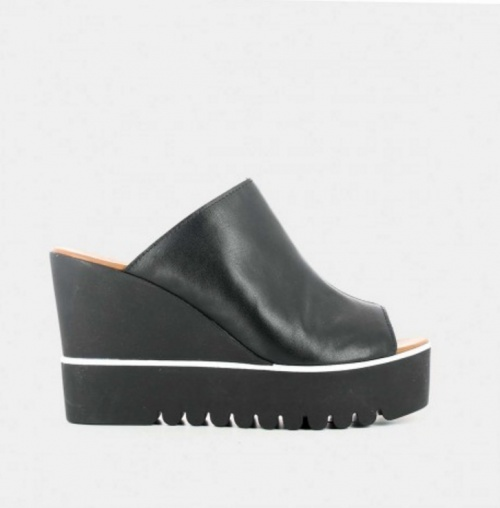 noire chaussure talons Jonak