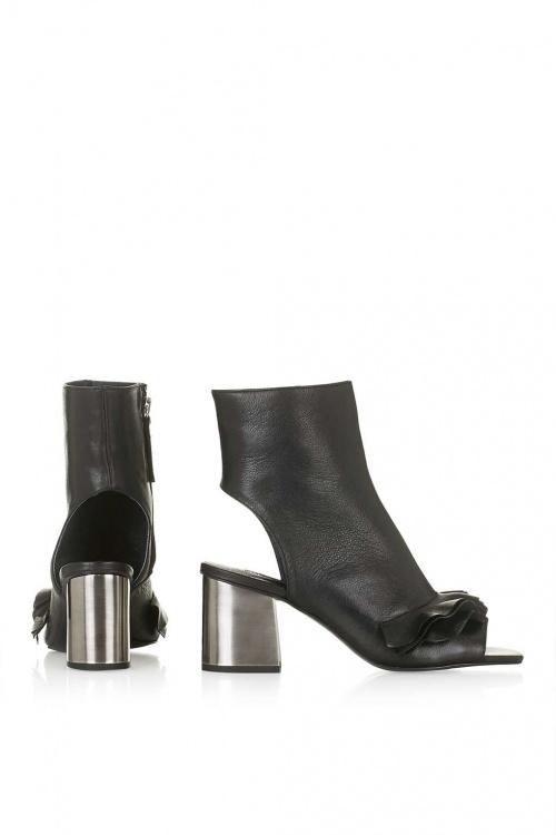 noire chaussure talons Topshop