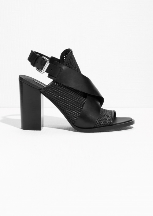 noire chaussure talons & Other Stories