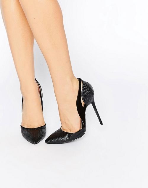 noire chaussure talons Daisy Street