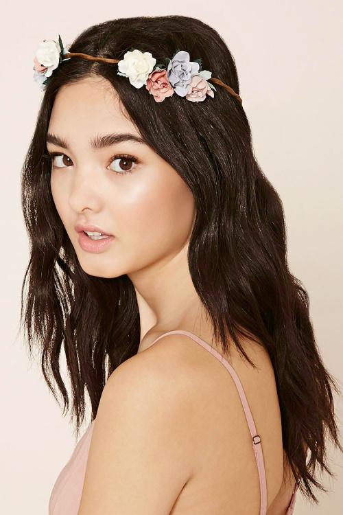 Forever 21 headband fleurs