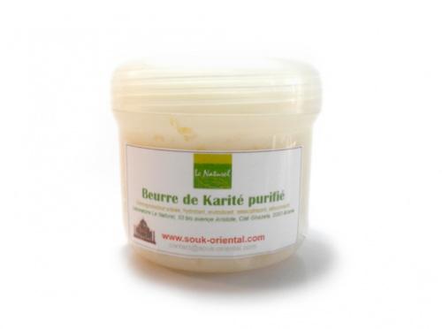 beurre de karité purifié