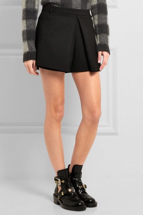 Balenciaga jupe short noire