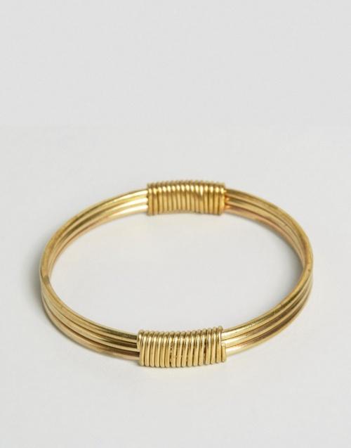 Asos - Bracelet - jonc or