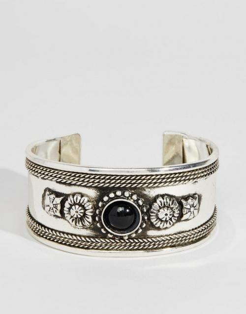 Asos - Bracelet ethnique pierre noire