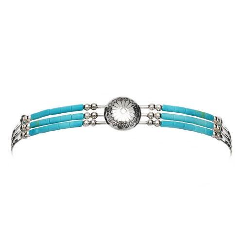 Harpo - Bracelet  perles turquoises