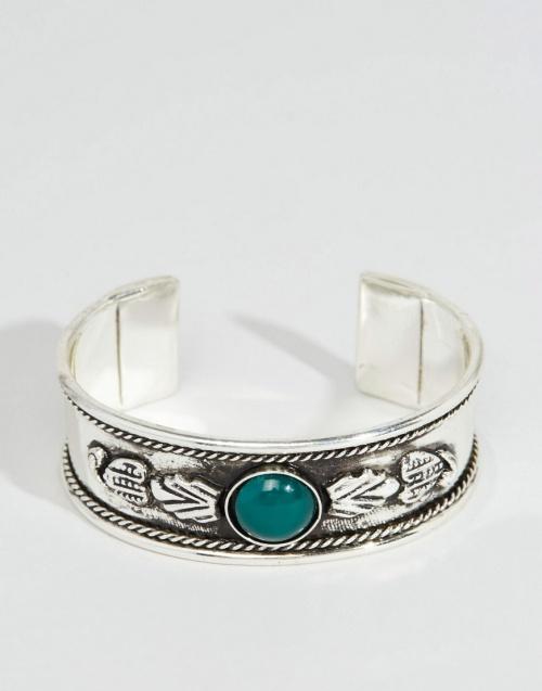 Asos - Bracelet pierre bleu