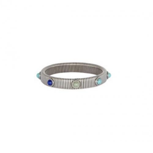 Gas -Bracelet pierres bleus