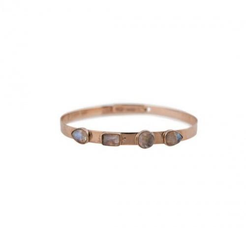 Jacquie Aiche - Bracelet or et pierres