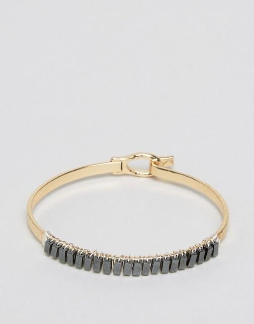 Asos -  Bracelet or et pierres