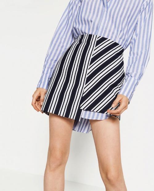Zara mini jupe rayures