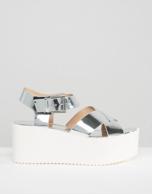 Pull & Bear - Sandales métaliques