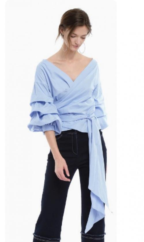 Style Mafia - Top blouse manche oversize
